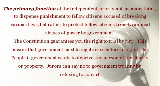 Jury Nullification Justice
