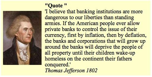 President Jefferson Debt