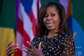 Michelle Obama Crooked As A Dog's Hind Leg.