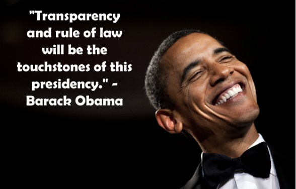 obama transparency