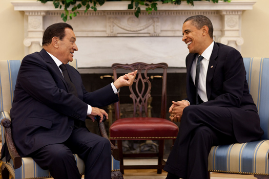 President Mubarak Befriended BY Obama Before Ousting Him And Installing Mohammed Morsi Muslim Brotherhood As President Of Egypt. In The Summer Of 2013 The Egyptian People With Their Military Overthrew Morsi And He Is Now In Prison For Inciting Murder Against Against The People.