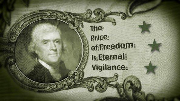 Through The Eyes Of The Conspiracy Theorist: Eternal Vigilance.