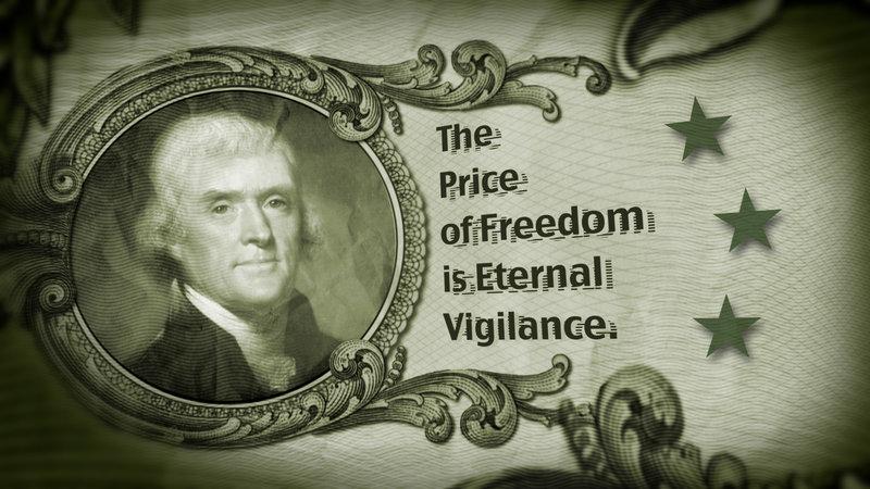 Jefferson Eternal Vigilance