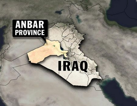 U.S. Warns Americans From Travelling To Iraq: Obama Annexes Anbar Region In Iraq To Infiltrate Syria.  5625147112013_anbar