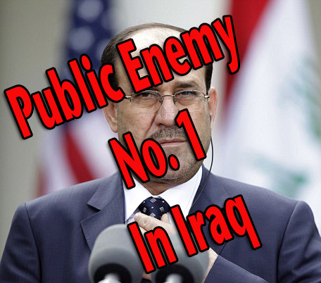 NWO placed a new Shia-dominated government in Iraq into power. Prime Minister Nouri al-Maliki has since handed down four death sentences against Sunni Vice President Tareq al-Hashemi, who is in exile.