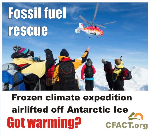 Antarctic China Ice Warmists