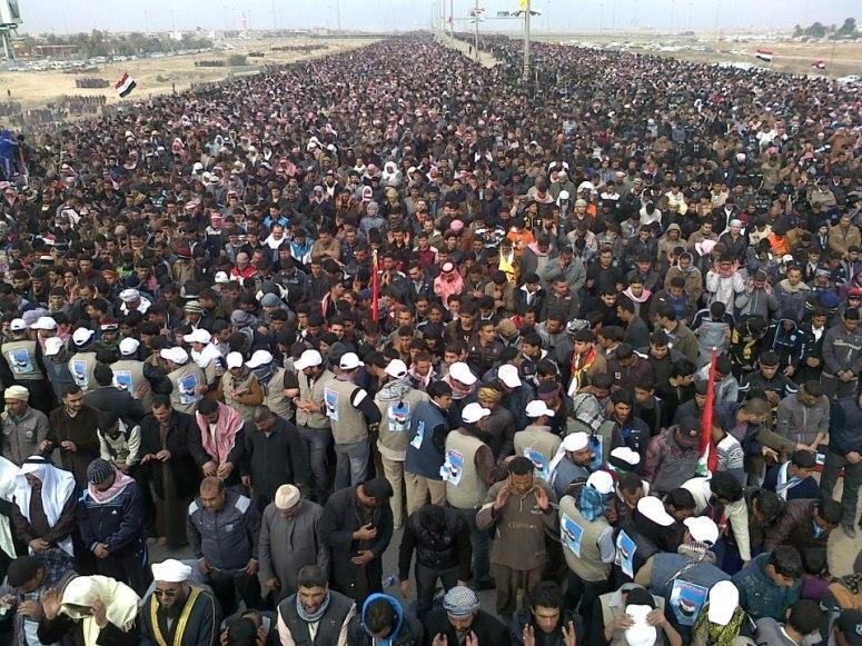 Iraq's Predominate Sunnis Want Nouri al-Maliki out.