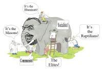 Banking Cabal's Zionist Elephant.