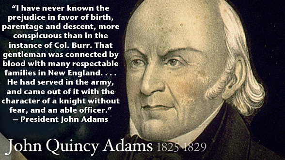 President John Quincy Adams
