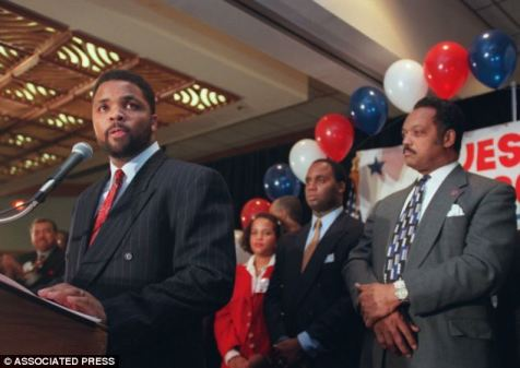 Jesse Jackson Jr. Now In Jail.