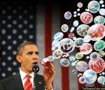 Bubbles Obama Media