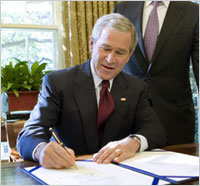 Iraqi Dinar For U.S. Citizens Granted By Presidents Bush Obama E.O. 13303 & Iraq's Coalition Provisional Authority Order 39 Bush-signs