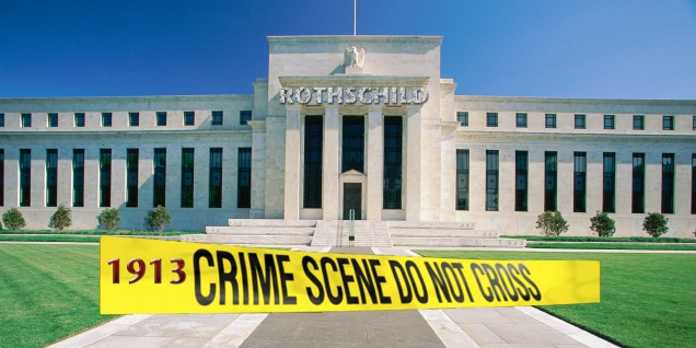 Breaking => Riots Erupt In Germany As Attempt To Shut Down Rothschild's European Central Bank! Federal-reserve-1913-crime