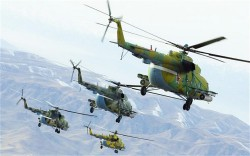 6 Mi-8 Helicopters to Anapa