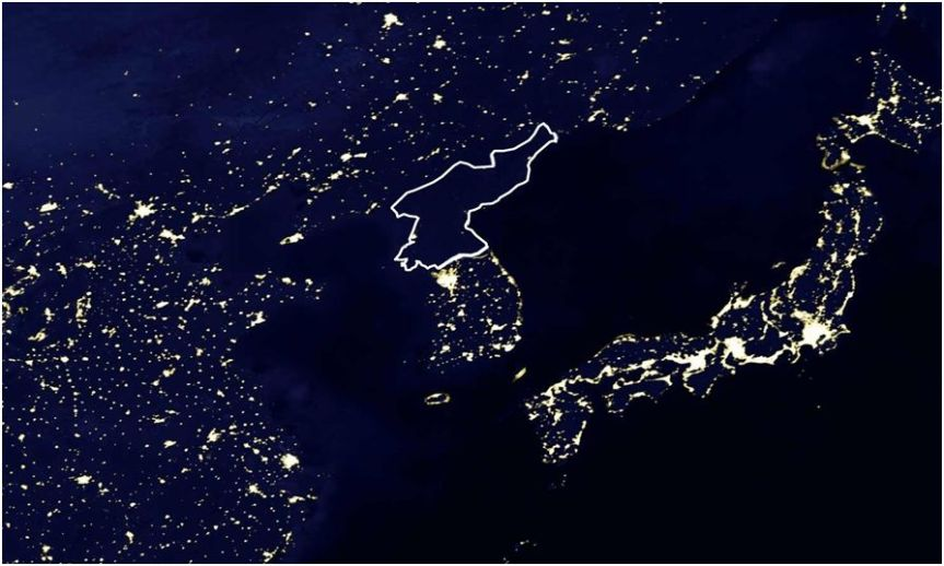 A New, Highly Detailed Image of North Korea's (Lack of) Electrical Infrastructure