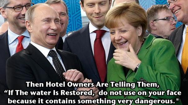 Putin Sochi Water