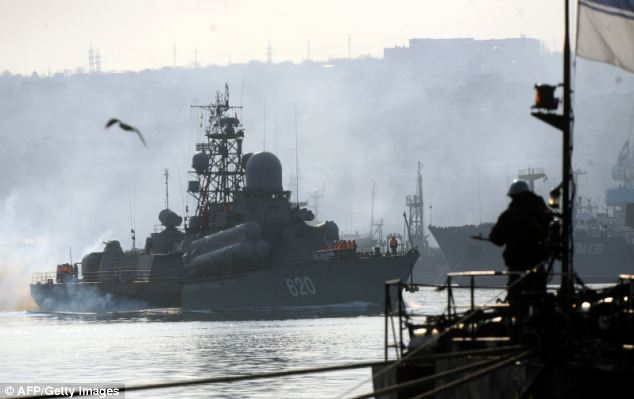 Russian Navy Awaits Obama In The Black Sea.