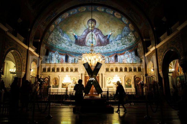 Saint Andrew's Cross In Russia