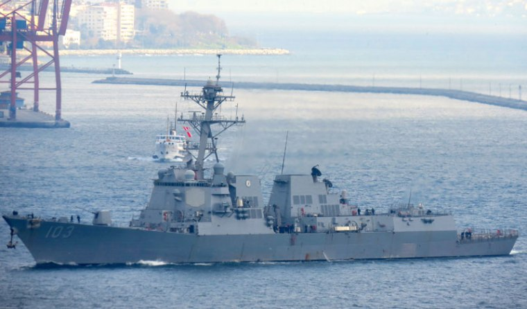 U.S. Destroyer Truxtun