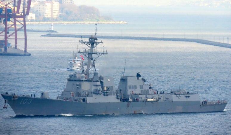U.S. Destroyer Truxtun