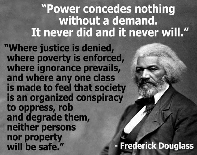 frederick douglass justice denied