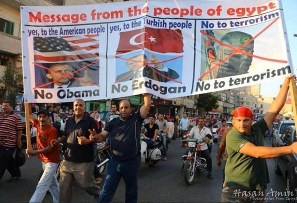 egypt obama protest