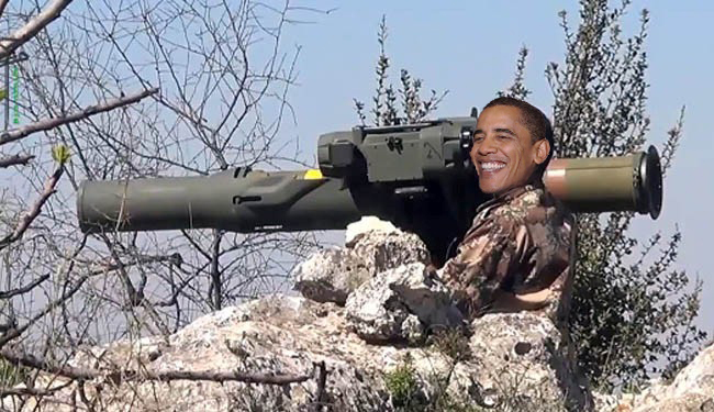 Syrian militants have reportedly come into possession of high-powered anti-tank weaponry supplied by US.