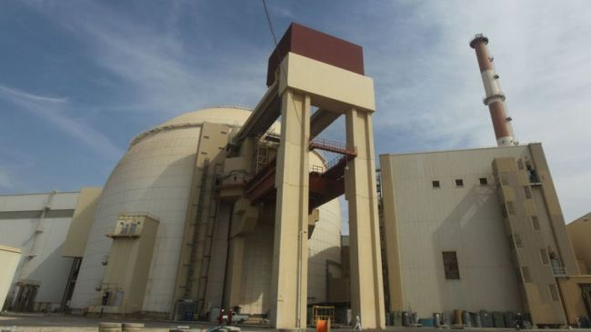 A view of the reactor building at Bushehr Nuclear Power Plant in southern Iran (file photo)