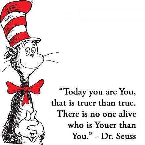 Dr. Seuss ~ You