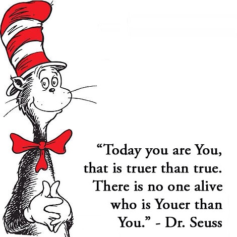 Dr. Seuss ~ You