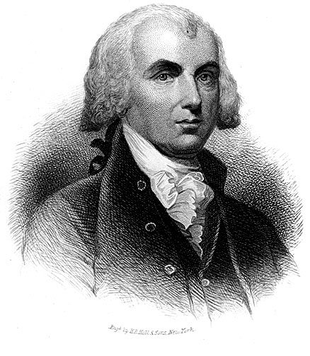 Founding Father & President ~ James Madison