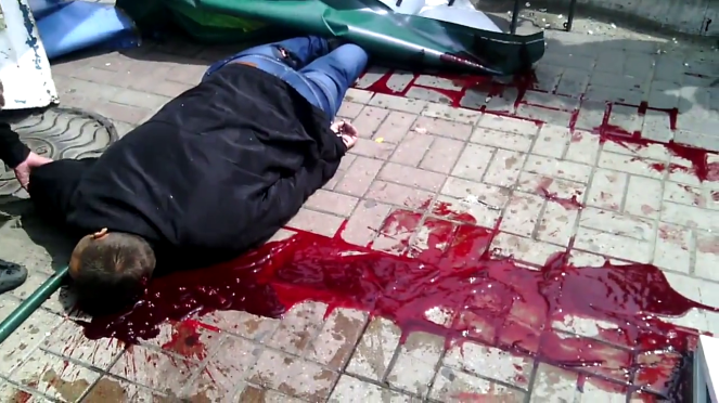 MASSACRE IN MARIUPOL: UP TO 100 PEOPLE SHOT DEAD ON DAY OF VICTORY OVER FASCISM