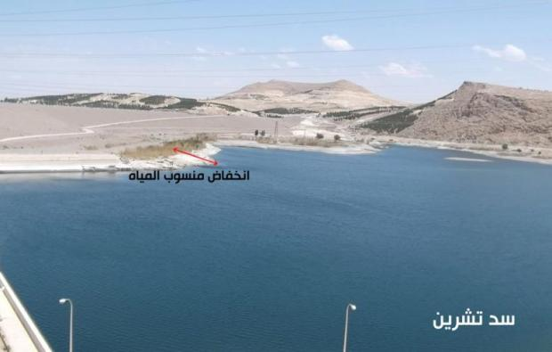 Euphrates Lake Assad
