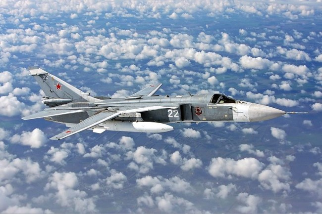 Russian Sukhoi Su-24 Fighter