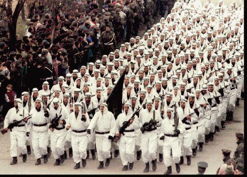 Culling Of Roman Catholics. Muslim Brotherhood Jihad Kosovo Yugoslavia Under The Moniker Of The KLA.
