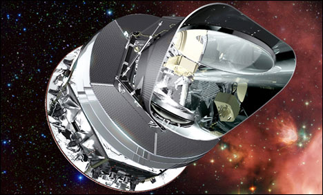 Europe's Planck telescope