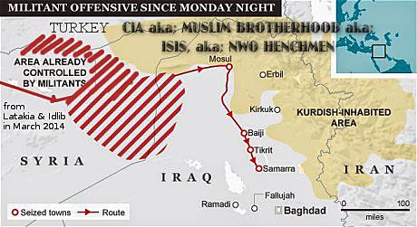 Iraq ISIS CIA Mosul