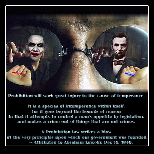 Lincoln Temperance Prohibition