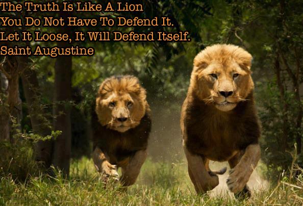 Lion Truth Augustine