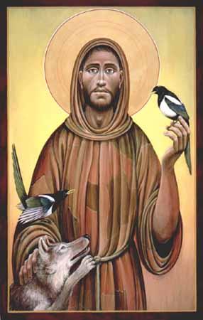 Sermon To The Birds Roman Catholic Saint Francis Of Assissi Born Giovanni Francesco di Bernardone in 1181– died October 3, 1226