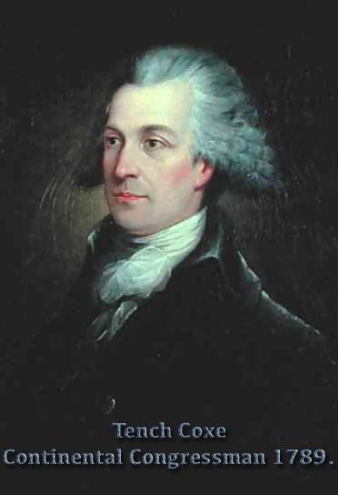 Tench Coxe 1755-1824