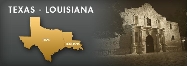 texas louisiana