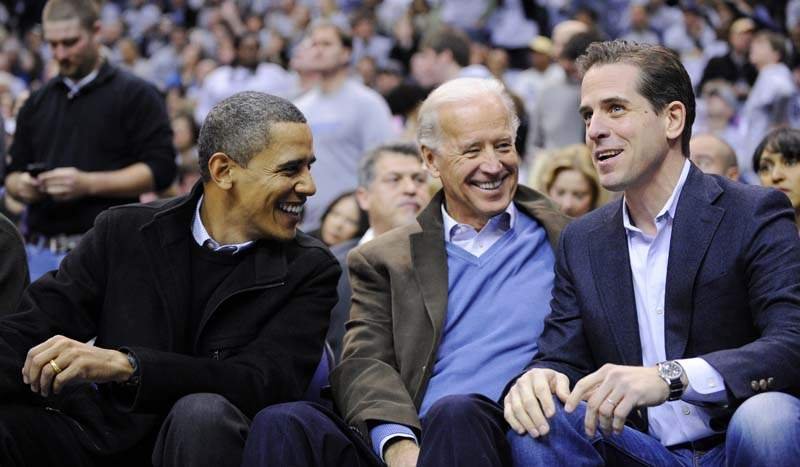 Barry Soetoro, Joe Biden, Hunter Biden