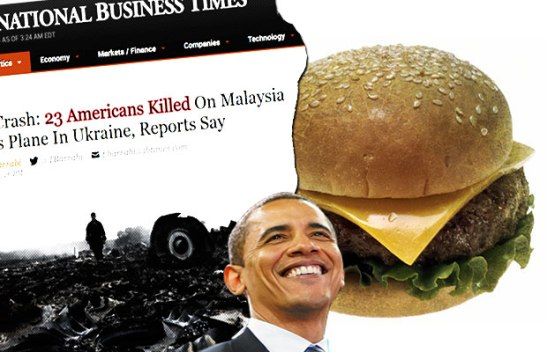 OBAMA BURGER PHOTO OP