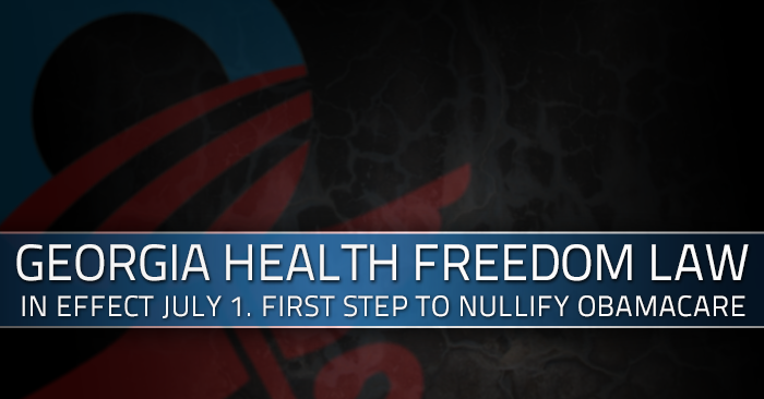 Halts Obamacare: State Law Goes Into Full Effect Today July 1st 2014