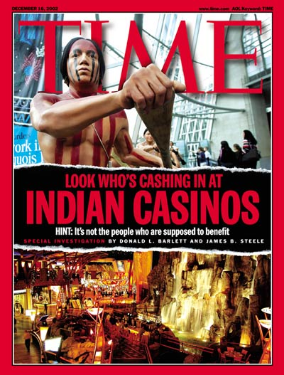 indian casinos time