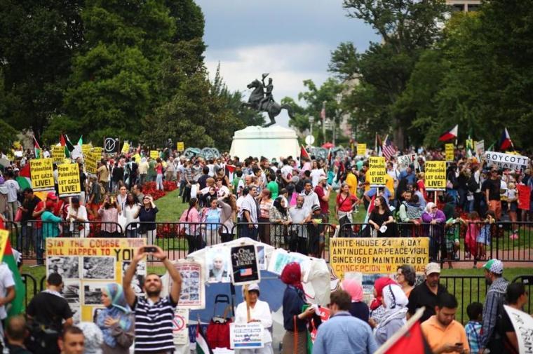 Gaza Protest Washington 832014