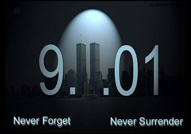9/11 never forget