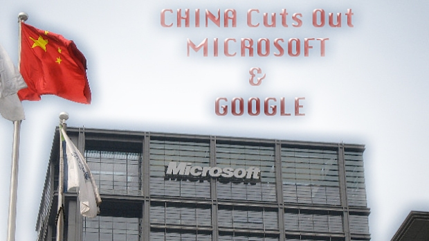 China Microsoft Google
