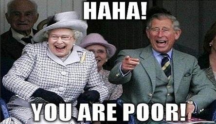 royals poor